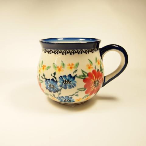 ポーランド陶器 マグカップS (MA-06)