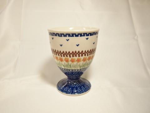 ポーランド陶器☆アイスカップ -1