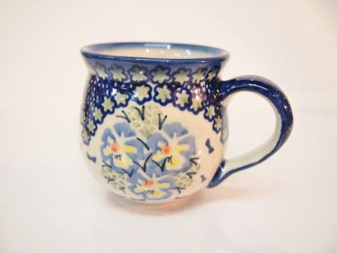 ポーランド陶器☆マグカップ (13043)
