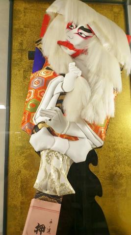 日本人形羽子板
