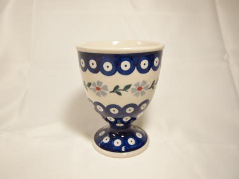 ポーランド陶器☆アイスカップ -2