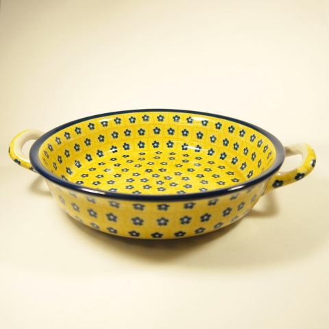 ポーランド陶器 グラタン皿 (GU-01)