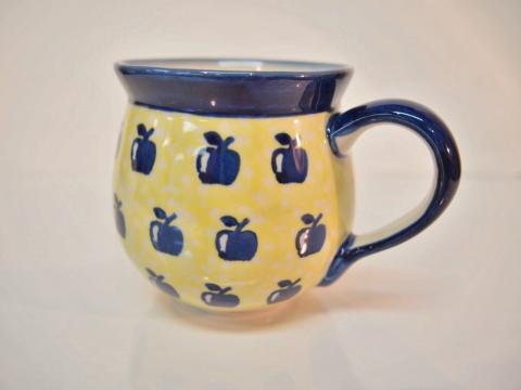 ポーランド陶器☆マグカップ (13041)